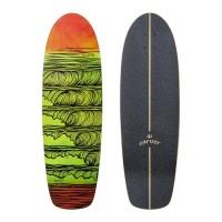 "Surf Skate Carver Stacked 31.25\\"" Deck Only19532-DO"