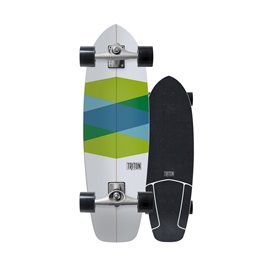Surf Skate Triton by Carver Green Glass 32'' 2018 - Complete22659-C