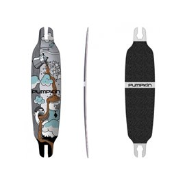 """Pumpkin Skateboards Wing Concave Coffee 94\\"""" - Deck Only302695037952"""