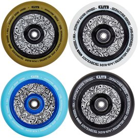 Elite Air Ride Floral Pro Scooter Wheel Complete