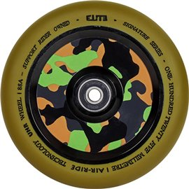 Elite Air Ride Camo Pro Scooter Wheel 110mmES-ARW-GUM/CAMO-110