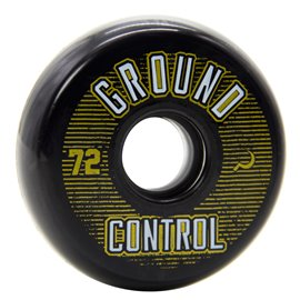 Razors Ground Control Wheel 72mm 90A black-gold 20161074