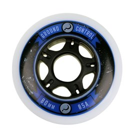 Razors Ground Control Wheel 80mm 85A white with 2G