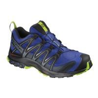 Salomon Shoes XA Pro 3D Gtx Maz Blue/BK/Lime Gre 2018L40472100