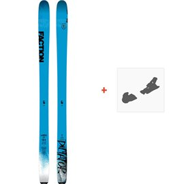 Ski Faction Dictator 1.0 2019 + Fixation de ski