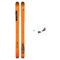 Ski Faction Dictator 3.0 2019 + Fixation de ski