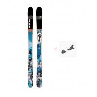 Ski Faction Prodigy 1.0 x 2019 + Fixation de skiFCTN-SKW19-PR10X-ZZZ