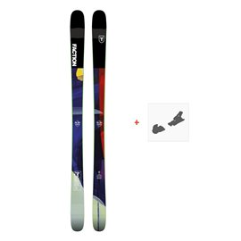 Ski Faction Prodigy 1.0 2019 + Fixation de skiFCTN-SKW19-PR10Z-ZZZ
