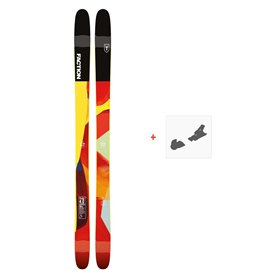 Ski Faction Prodigy 4.0 2019 + Fixation de skiFCTN-SKW19-PR40Z-ZZZ
