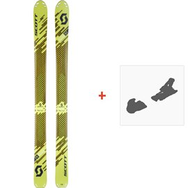 Ski Scott Superguide 105 2018 + Fixation de ski254209