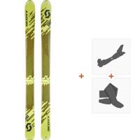 Ski Scott Superguide 105 2018 + Fixations randonnée + Peau254209