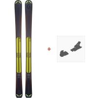 Ski Scott Slight 100 2019 + Fixation de ski266971