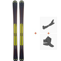 Ski Scott Slight 100 2019 + Fixations randonnée + Peau266971