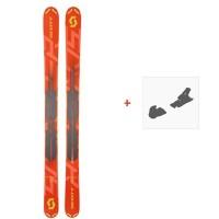 Ski Scott Scrapper 115 2019 + Fixation de ski266978