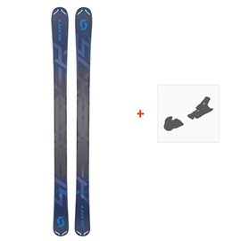 Ski Scott Scrapper 105 2019 + Fixation de ski266979