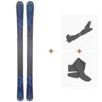 Ski Scott Scrapper 105 2019 + Fixations randonnée + Peau266979