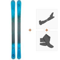 Ski Scott Scrapper 95 Women 2019 + Fixations randonnée + Peau266981