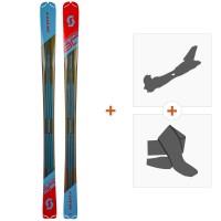 Ski Scott Women Speedguide 80 2019 + Fixations randonnée + Peau266984