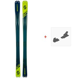 Ski Scott Speedguide 80 2019 + Fixation de ski266984