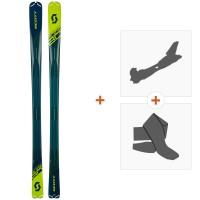 Ski Scott Speedguide 80 2019 + Fixations randonnée + Peau266984