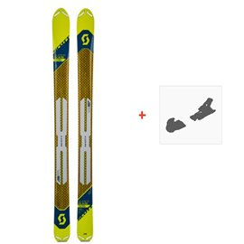 Ski Scott Superguide 105 2019 + Fixation de ski266985