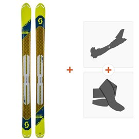 Ski Scott Superguide 105 2019 + Fixations randonnée + Peau266985