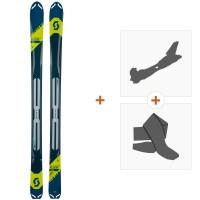 Ski Scott Superguide 95 2019 + Fixations randonnée + Peau266986