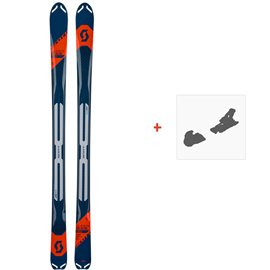 Ski Scott Superguide 88 2019 + Fixation de ski266987