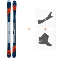 Ski Scott Superguide 88 2019 + Fixations randonnée + Peau266987