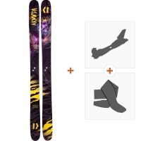 Ski Armada ARV 116 JJ 2019 + Fixations randonnée + PeauRAST00016