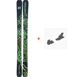 Ski Armada Edollo 2019 + Fixation de skiRAST00020