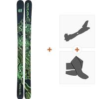 Ski Armada Edollo 2019 + Fixations randonnée + PeauRAST00020