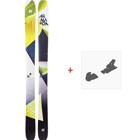 Ski Armada Trace 108 2019 + Fixation de ski