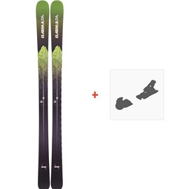 Ski Armada Invictus 85 2019 + Fixation de skiRAST00044