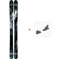 Ski Armada ARW 96 2019 + Fixation de skiRAST00052