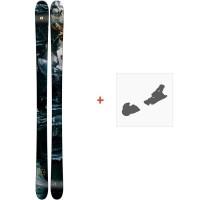 Ski Armada ARW 86 2019 + Fixation de skiRAST00066