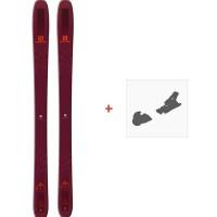 Ski Salomon N QST 106 2019 + Fixation de ski