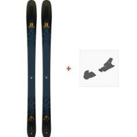 Ski Salomon N QST 99 2019 + Fixation de skiL40524200