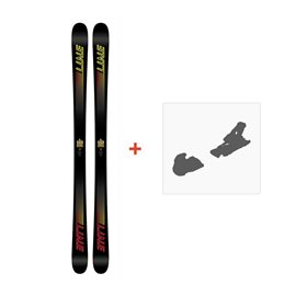 Ski Line Honey Badger 2018 + Fixation de ski19B0007.101.1