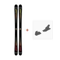 Ski Line Honey Badger 2018 + Fixation de ski19B0007.101.1