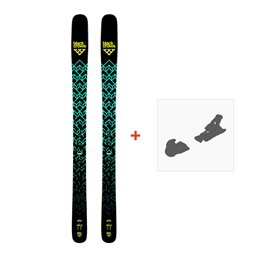 Ski Black Crows Atris 2019 + Fixation de ski100438
