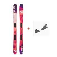 Ski Roxy Shima Freeride 2019 + Fixation de skiROXY-SKW19-SHMFR-ZZZ
