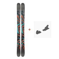 Ski Line Honey Bee 2019 + Fixation de ski19C0020.101.1