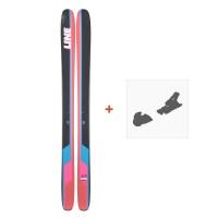 Ski Line Sick Day 114 2019 + fixation de ski