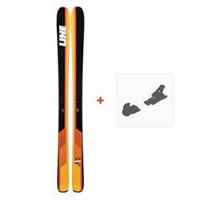 Ski Line Sick Day 94 2019 + fixation de ski19B0013.101.1