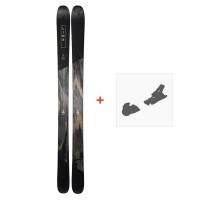 Ski Line Supernatural 100 2019 + fixation de ski19B0104.101