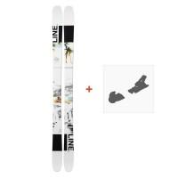 Ski Line Tom Wallisch Pro 2019 + fixation de ski19B0010.101