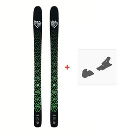 Ski Black Crows Navis 2019 + fixation de ski100675