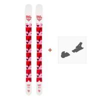 low priced a9f02 e365b Ski Black Crows Magnis Birdie 2019 + fixation de ski100717