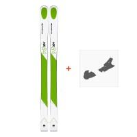 Ski Kastle MX84 2019 + Fixation de ski